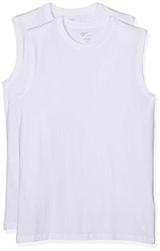 Venti Herren Top 001760,2er Pack Weiß (Weiß 001)