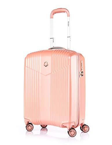 Leichtgewicht Mädchen Reise-Koffer Hartschale-Handgepäck TSA integriert S-19(37L)...