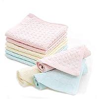 Khillayox™ Women's Cotton Face Towel Multicolor [Dual Check Print] (6)