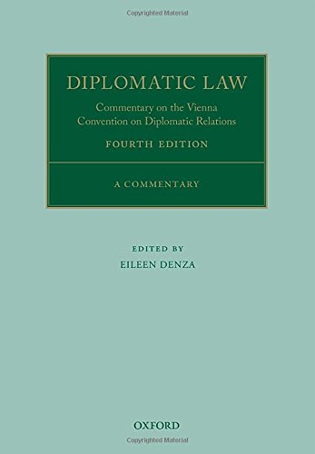 an overview of the vienne convention on diplomatic relations and its impact on modern day diplomatic Diplomatic immunity in the context of international human rights: the vienna convention on diplomatic relations may have clearly spelt out the existing law with regard to diplomatic practices.
