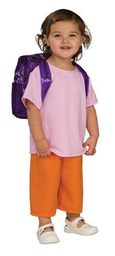 Rubie's Deluxe Kostüm Dora The Explorer Mädchen