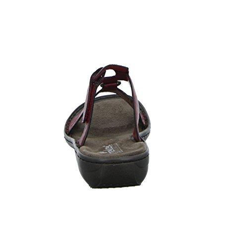 Rieker 608x3-35 35, Mules Pour Femme Rouge