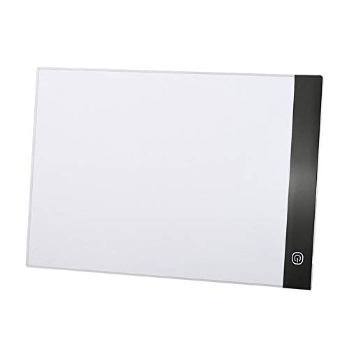 Wellouis Portable Digital Drawing Tablet LED Light Box Tracing Copy Board for Painting Writing Graphic (Tattoo-tracing-board)