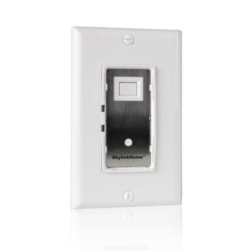 skylinkhome we-001Unterputzkabel an/aus Wand Schalter Beleuchtung Kontrolle Home Automatisierung Smart Light Fernbedienung steuerbares Licht Empfänger, skylinknet kompatibel Einfache DIY Installation ohne Neutral Draht