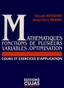 Mathématiques, numéro 2 : fonctions de plusieurs variables. Optimisation