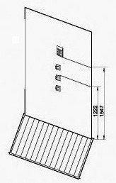 EAGO Dampfdusche DZ972-1F8 schwarz 120×95 - 5