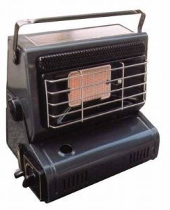 Bright Spark Portable Gas Heater - Black, N/A