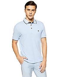 John Players Men's Solid Slim Fit T Shirt ZCMCTSS180040