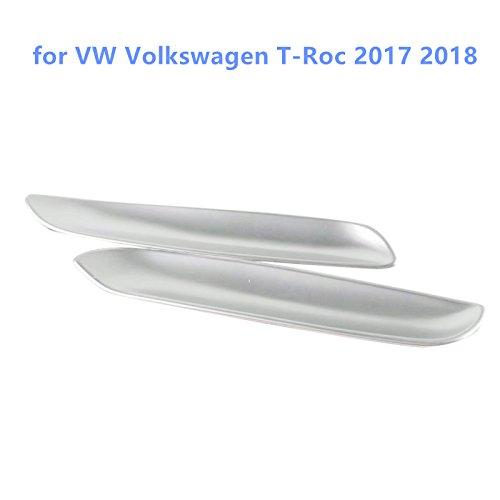 für T-ROC 2017 2018 Interieur Elektrisch Verstellbarer Sitz Taste Interieurleisten ABS Kunststoff Matt