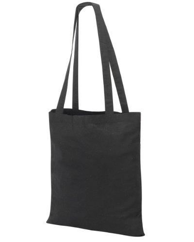 Shugon Guildford cotone shopper/borsa a tracolla Black