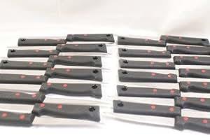 Lot 25 couteaux de cuisines INOX TREMPE PRADEL