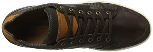 Dockers by Gerli Herren 41tm002-201 Sneaker Braun (Dunkelbraun)