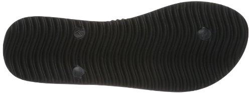 flip*flop slim kilim Damen Zehentrenner Schwarz (000 black)