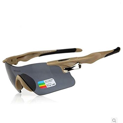 Yuany Sonnenbrillen Racing Tactical Goggles Polarisierte kugelsichere Brillen Sportbrillen Intelligente Sportbrillen