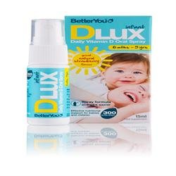 BetterYou D Lux Infant Vit D Oral Spray 15ml x 1 from BETTER YOU