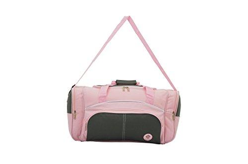 Compass Bagaglio a mano, Pink & Grey Design (Rosa) - A201