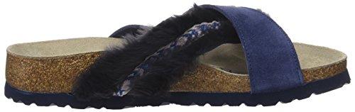 Papillio Damen Daytona Sandalen Blau (accogliente Blu Notte)