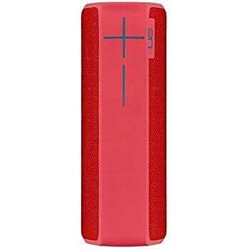 Ultimate Ears BOOM 2 Wireless/Bluetooth Speaker (Waterproof and Shockproof) - Pink/Red
