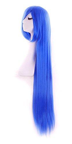 """Ambielly 40 """"  100 cm de largo ondulado peluca rizada del pelo de las  mujeres del partido de Cosplay de la peluca b56e82ae26f"""