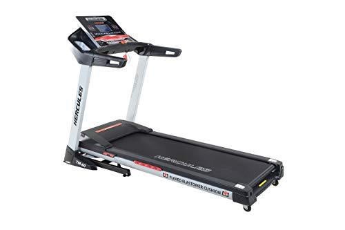 Hercules Fitness TM60 Plastic Treadmill (Grey/Black)