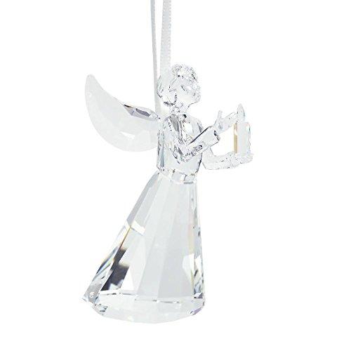 Swarovski Engel Ornament Figur, Kristall, Transparent, 8 x 5 x 4.9 cm