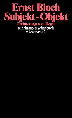 Gesamtausgabe in 16 Bänden. stw-Werkausgabe. Mit einem Ergänzungsband: Band 8: Subjekt - Objekt. Erläuterungen zu Hegel (suhrkamp taschenbuch wissenschaft)