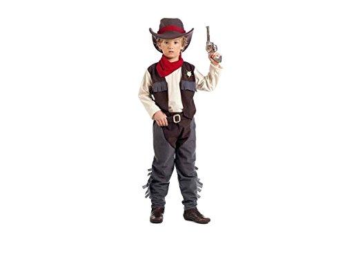 Limit Kinder-Kostüm Cowboy James Größe 3(5/7Jahre), Mehrfarbig (178mi3)