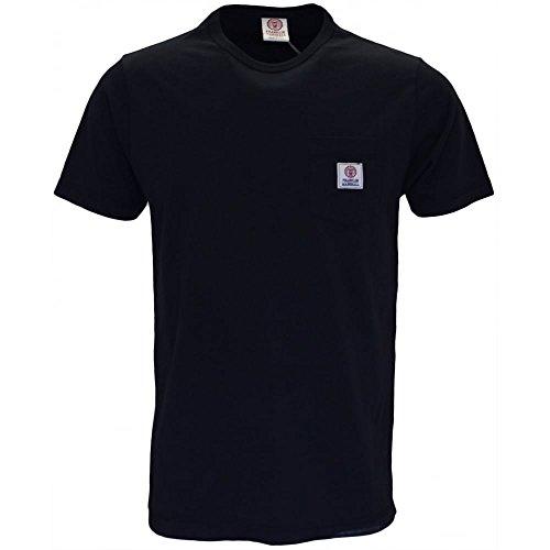 Franklin & Marshall Herren T-Shirt Schwarz Schwarz Schwarz - Schwarz