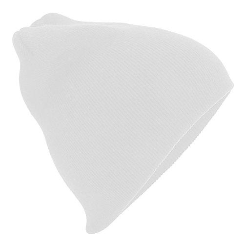 Beechfield - Bonnet tricoté - Adulte unisexe (Taille unique) (Blanc)
