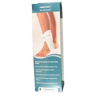 Aircast Air-Stirrup II, Zweischaligen Bandage, Größe M, Knöchel Links