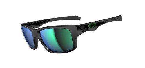 Oakley Herren Sonnenbrille Jupiter Squared Black/Jade Iridium (S3), 62