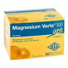 Magnesium Verla 300 Typ Orange Spar-Set 2x20Beutel. Hochdosiertes Trinkgranulat, ideal zur Deckung eines erhöhten Magnesiumbedarfs. Glutenfrei und ohne Lactose