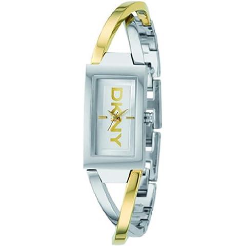 DKNY NY4778 - Reloj para hombres, correa de acero inoxidable multicolor