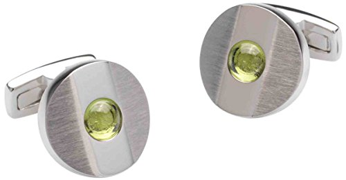 Verde / argento Octans Peridot Gemelli di Duncan Walton