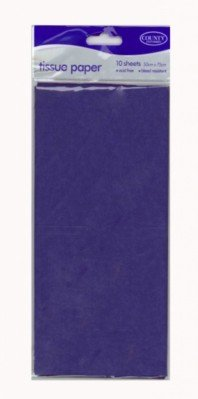 Seidenpapier 10sheets (C41) Blau