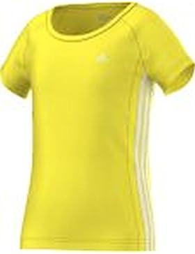 adidas Mädchen Essentials 3-Streifen T-Shirt