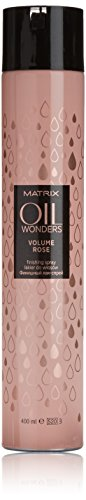 Matrix Oil Wonders Volume Rose Huile Finissant pour Cheveux Spray 400 ml