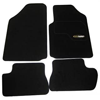 Citroen C2 Tailored Black Car Mats 2003 - 2010 Model by AoE Performance