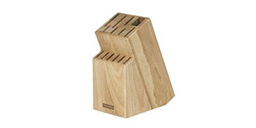 Messerblock Block WOODY für 13 Messer und Schere/Wetzstahl