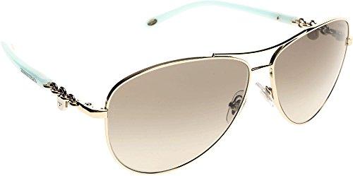 tiffany-co-damen-sonnenbrille-tf3034-locks-collection-gold-gold-60213m-one-size-herstellergrosse-60