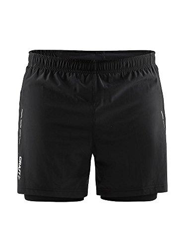 Craft Hombre Essential 2en 1de Pantalones Cortos