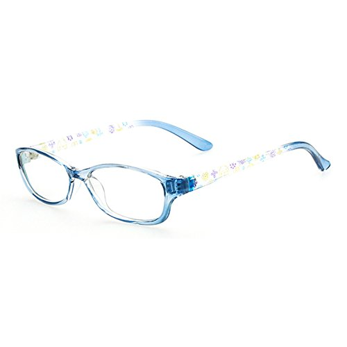 Mädchen Junge Brillen - Clear Lens Glasses Frame Geek / Nerd Brillen mit Car Shape Gläser Fall - (Kostüm Nerd Für Mädchen)