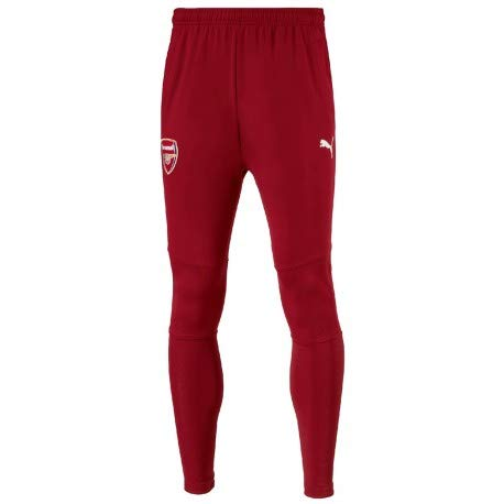 Puma Arsenal FC Stadium Pantalones, Hombre, Red Dahlia, Small