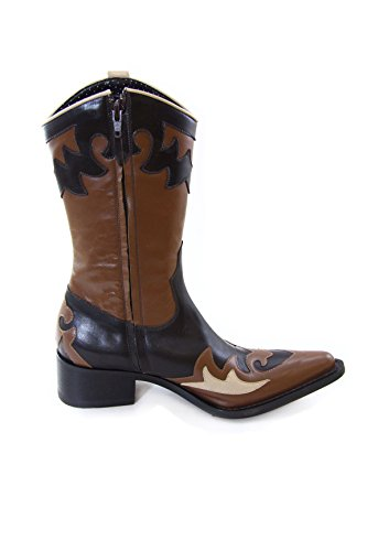Fornarina Vintage Leather Boots PIFNI3246WC Choco/Brown Choco/Brown