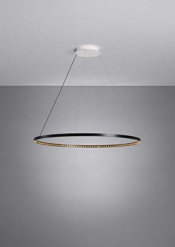 Le Deun Luminaires - Suspension Circle Ø80 noire by Le Deun Luminaires
