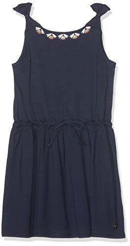 Carrément Beau Mädchen Robe Kleid, Blau (Indigo Blue Beige 85t), 8 Jahre (Herstellergröße: 08A) (Belle Mädchen Kleid Blau)