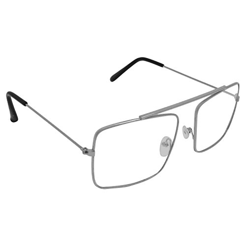 Criba Square Unisex Sunglasses - (Raees 12|50|White)