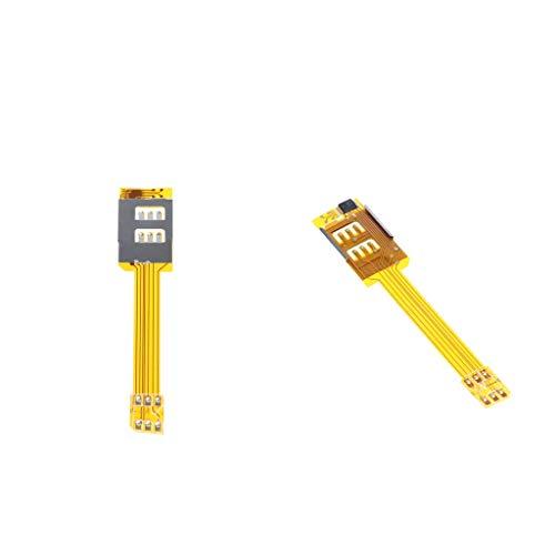 ual SIM Kartenadapter für iPhone 6S / 6 / 5S / 5 / 4S / 4 ()