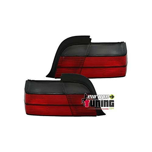 europetuning - 10010-2 FEUX ROUGES NOIRS LOOK M3 SERIE 3 E36 COUPE CABRIOLET 1991-1999