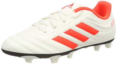 adidas Baby Jungen Copa 19.4 Fg J Fußballschuhe, Weiß (Solar Red/Off White), 28.5 EU